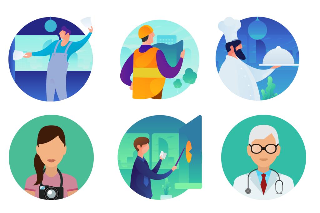 IG firemný profil - zobrazenie Vášho odvetvia